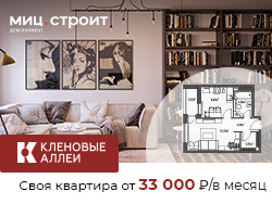 ЖК «Кленовые аллеи» Квартиры от от 88 000 рублей